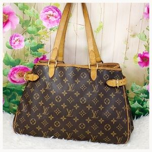 Authentic Louis Vuitton Monogram Batignolles GM